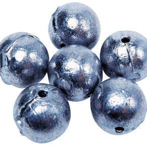 Maxistrike Fishing Sinkers Ball 1/4 oz 12 Pack
