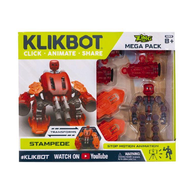 Zing KlikBot Mega Pack Assorted, , hi-res image number null