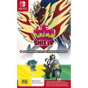 Nintendo Switch Pokemon Shield and Pokemon Shield Expansion Pass