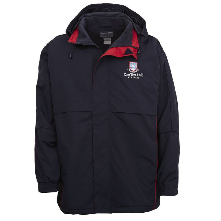 Schooltex One Tree Hill Jacket with Embroidery, Navy/Red, hi-res