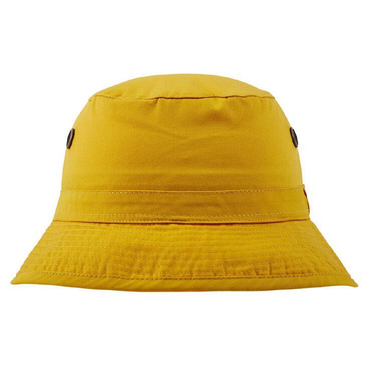Schooltex Bucket Hat, Gold, hi-res