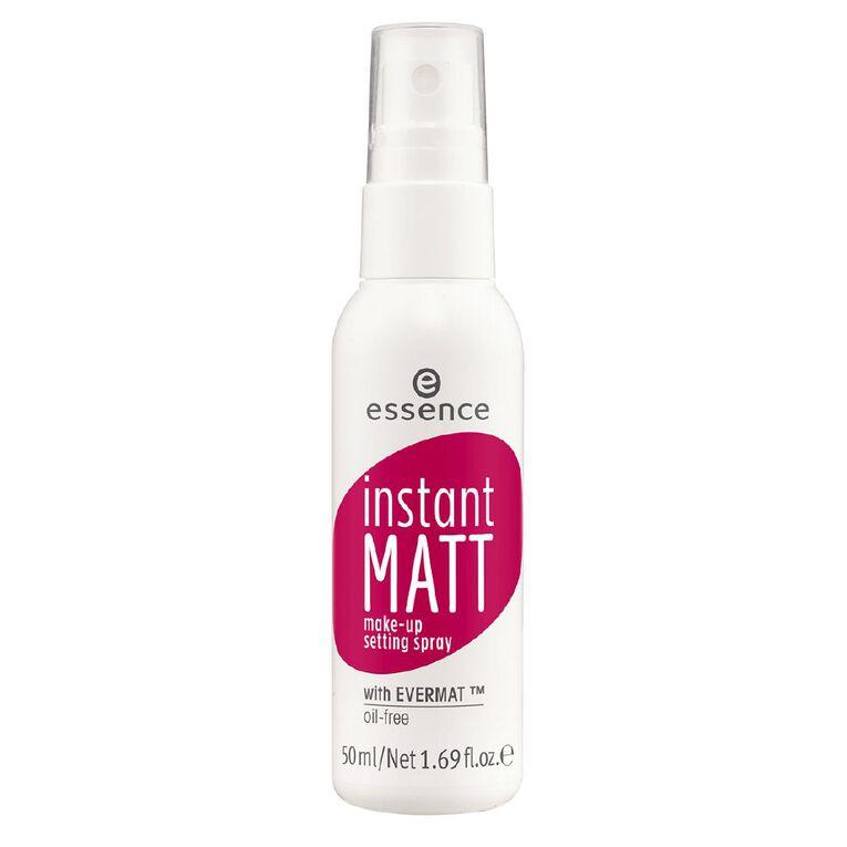 Essence Instant Matt Make-up Setting Spray, , hi-res