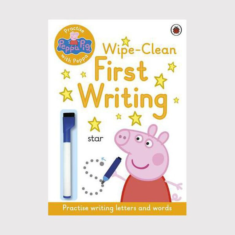 Peppa Pig: Practise with Peppa: Wipe-Clean First Writing, , hi-res