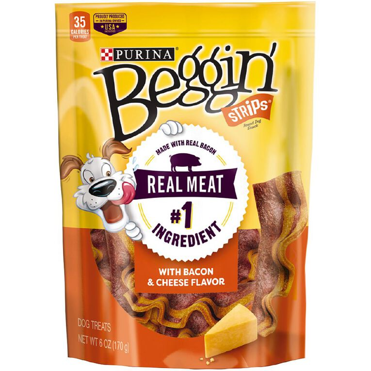 Purina Beggin' Strips Bacon and Cheese 170g, , hi-res