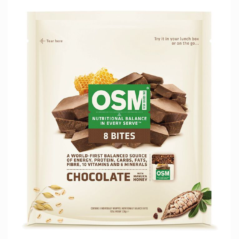 One Square Meal Chocolate Bites 340g, , hi-res