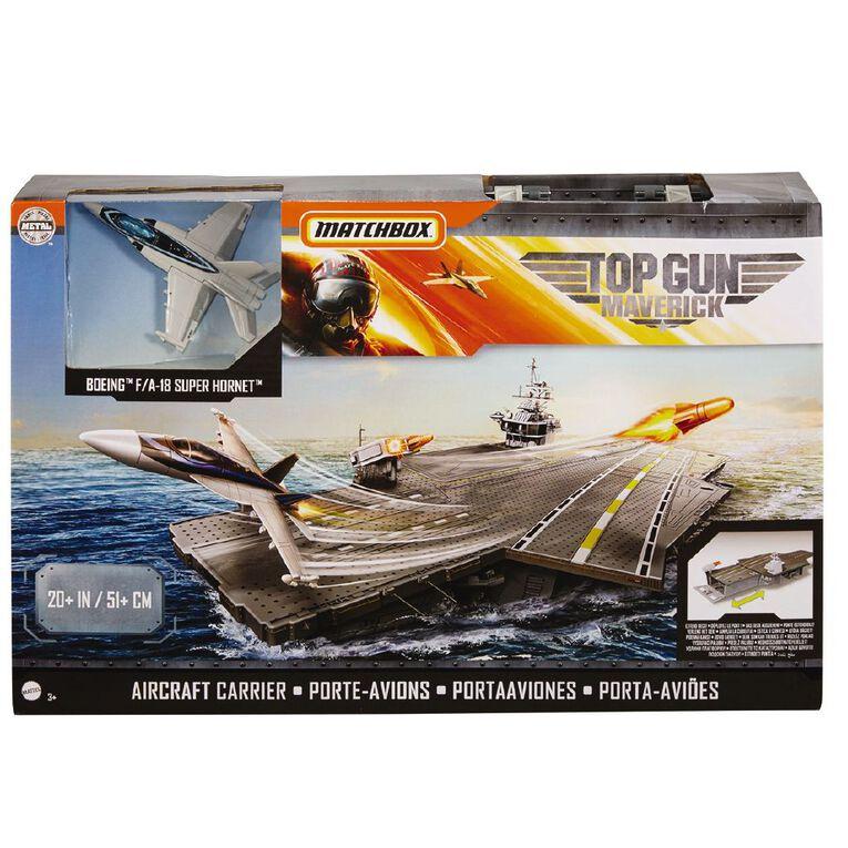 Matchbox Top Gun Aircraft Carrier Set, , hi-res