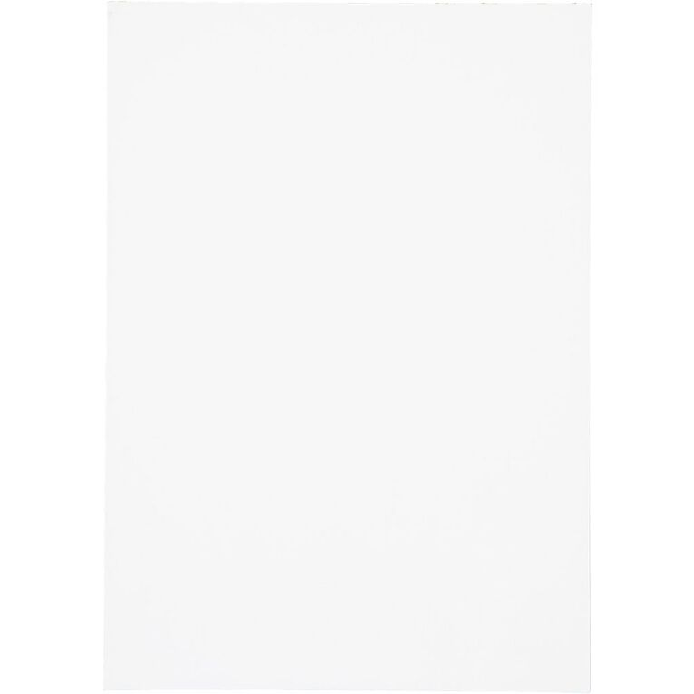 WS Unruled Pad 50 Sheets White A4, , hi-res