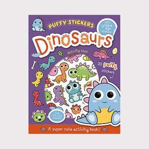 Wobbly-Eye Puffy Sticker Activity: Dinosaurs