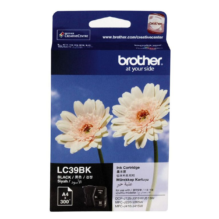 Brother Ink LC39 Black (300 Pages), , hi-res
