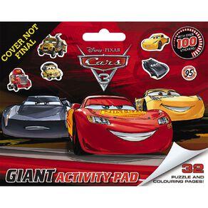 Disney Cars 3 Giant Activity Pad