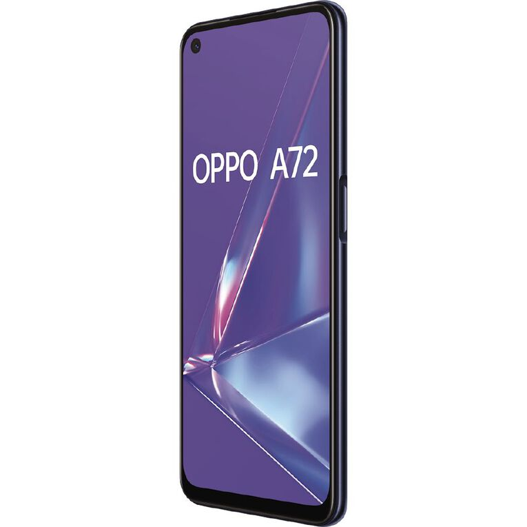 OPPO A72 128GB 4G Twilight Black, , hi-res