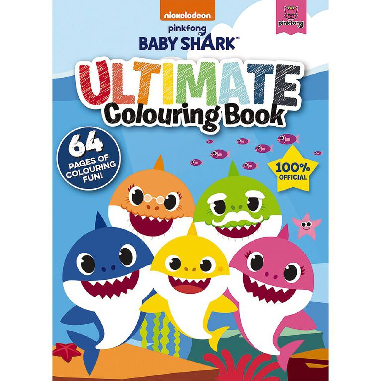 Baby Shark: Ultimate Colouring Book, , hi-res