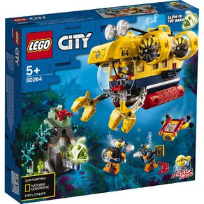 LEGO City Ocean Exploration Submarine 60264