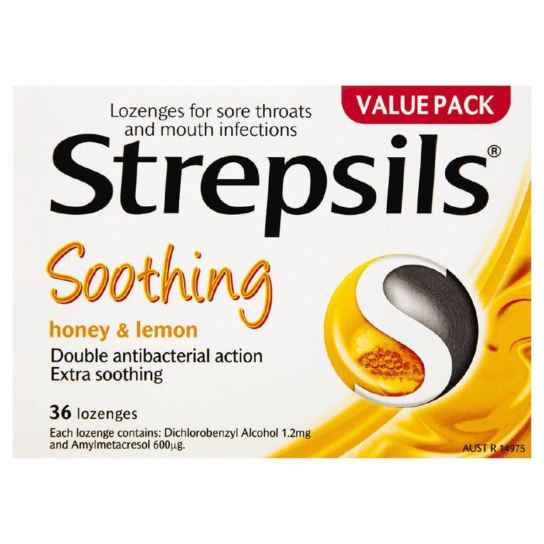 Strepsils Lozenges Honey Lemon 36s, , hi-res
