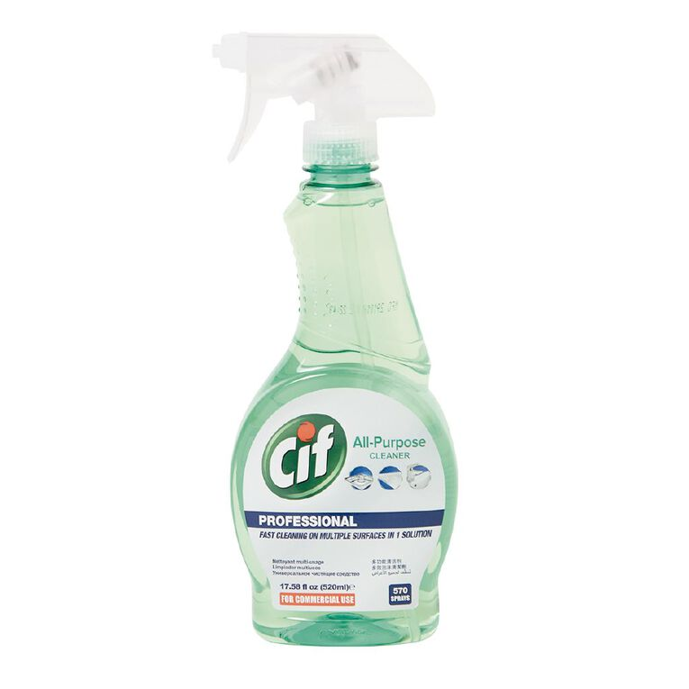 Cif Professional Spray All Purpose Cleaner 520ml, , hi-res
