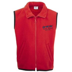Schooltex Three Kings Vest with Embroidery