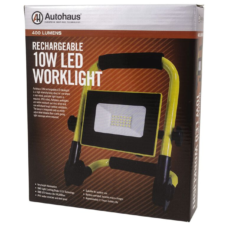 Autohaus 10W Rechargeable LED Worklight, , hi-res