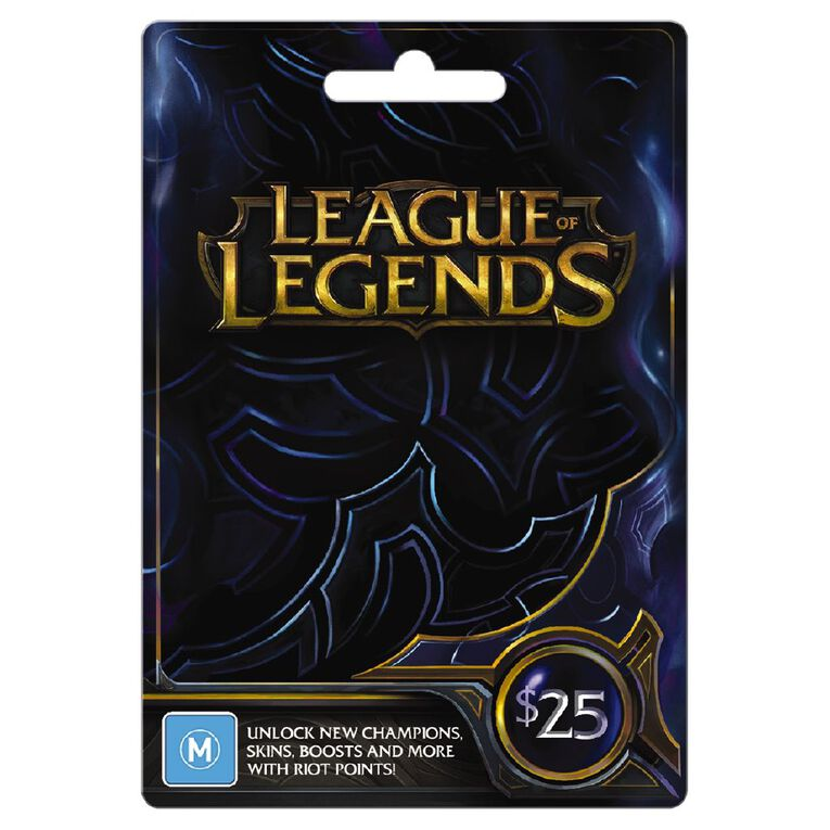 Riot $25 Game Card, , hi-res image number null