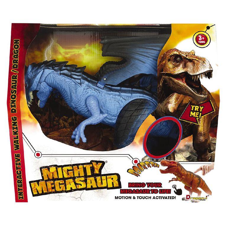 Mighty Megasaur Battery Operated Interactive Dragon, , hi-res