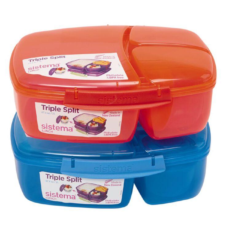 Sistema Triple Split Lunchbox Tint Assorted, , hi-res