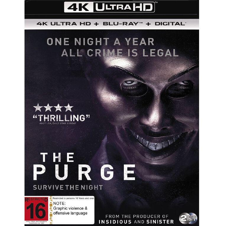 The Purge 4K Blu-ray 2Disc, , hi-res