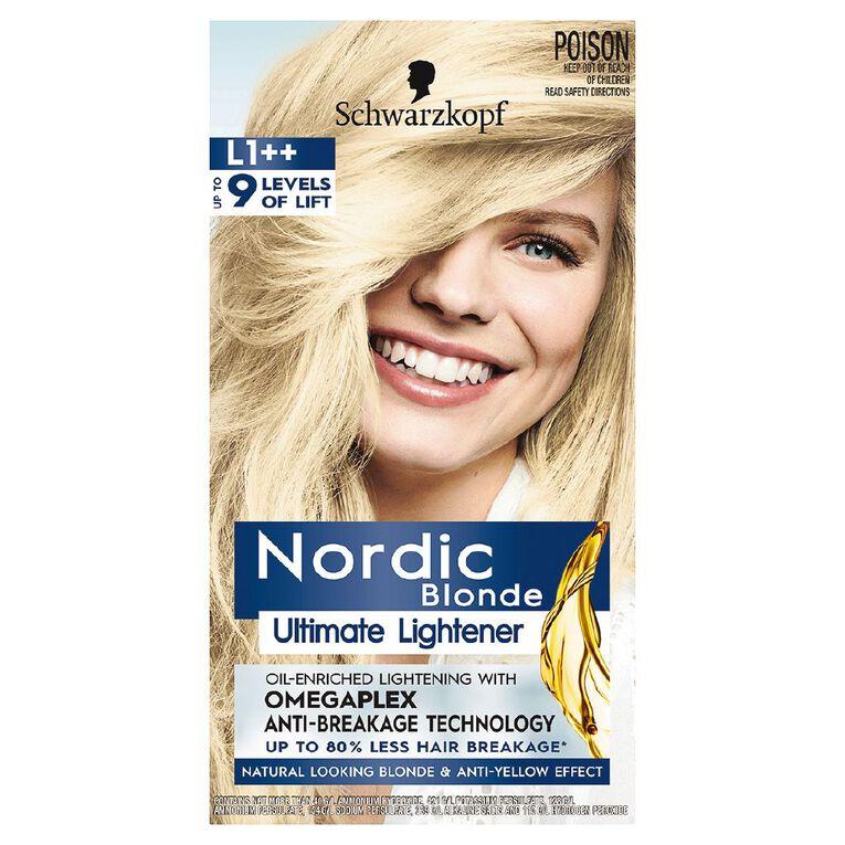 Schwarzkopf Nordic Blonde L1++ Ultimate Lightener, , hi-res