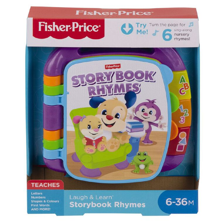 Fisher-Price Laugh & Learn Storybook Rhymes, , hi-res