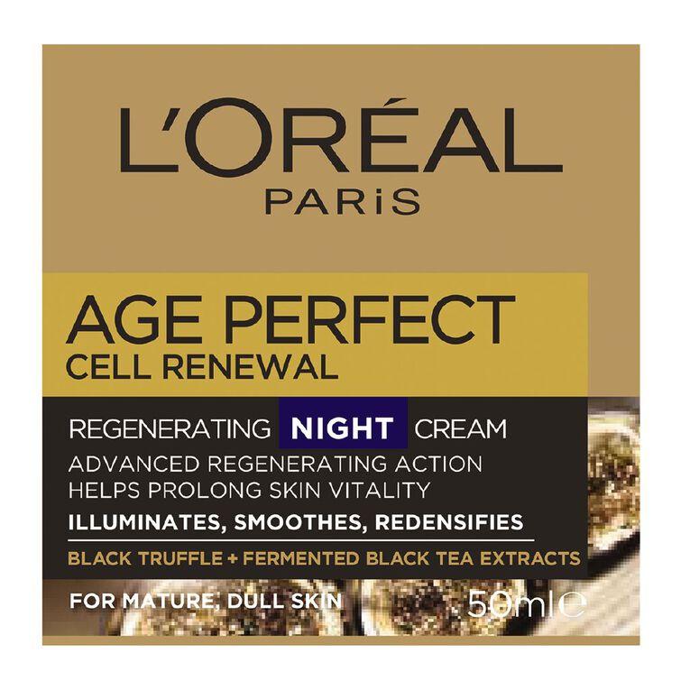 L'Oreal Paris Cell Renewal Night Cream 50ml, , hi-res