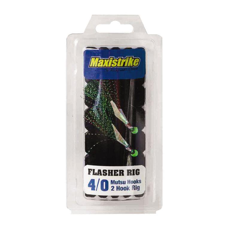 Maxistrike Flasher Rig Mutsu Hooks 4/0, , hi-res