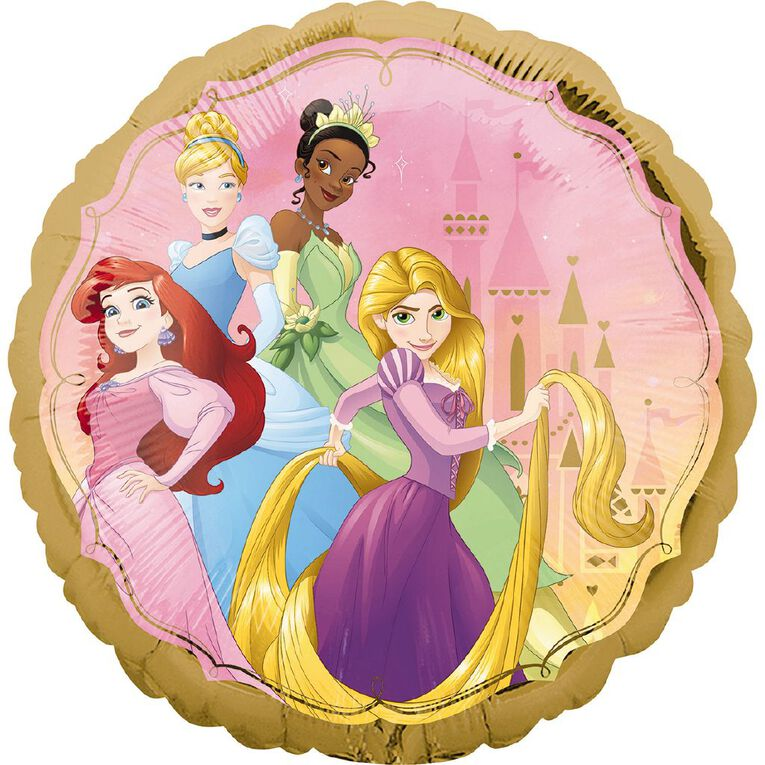 Princess Once Upon A Time Foil Balloon Standard 17in, , hi-res