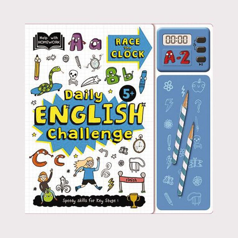 Help With Homework: 5+ English Challenge Pack, , hi-res