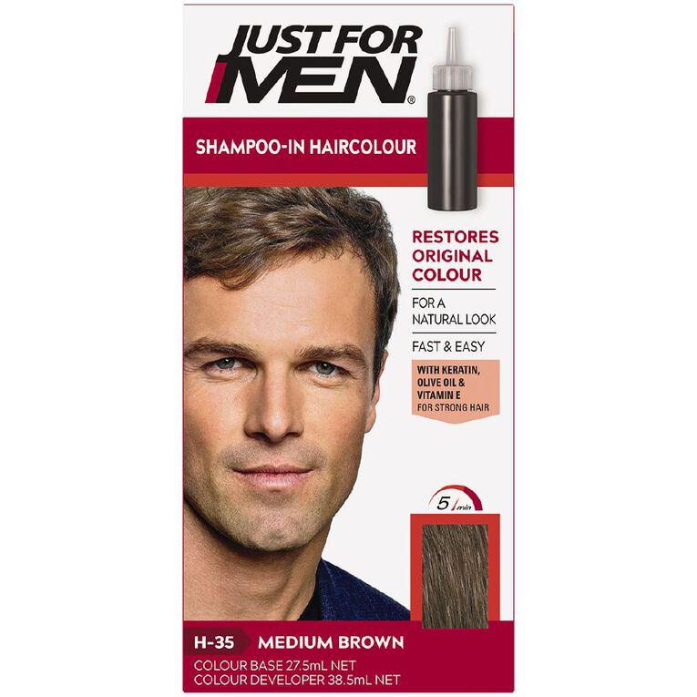 Just For Men Hair Colour Medium Brown, , hi-res