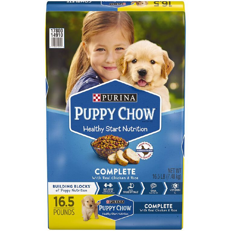 Purina Puppy Chow Complete & Balanced 7.48kg, , hi-res