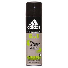 Adidas Antiperspirant Deodorant Stand In 6-in-1 200ml