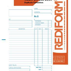 Rediform Multipurpose Book Duplicate 50 Sets Orange A5