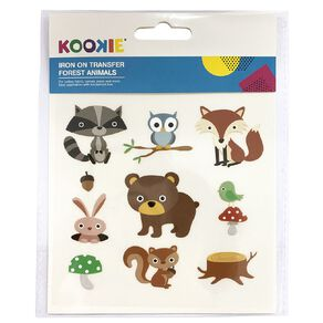 Kookie Iron on Transfer Woodland