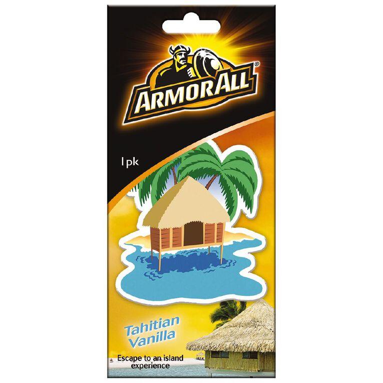 Armor All Hanging Car Air Freshener Tahiti Vanilla, , hi-res