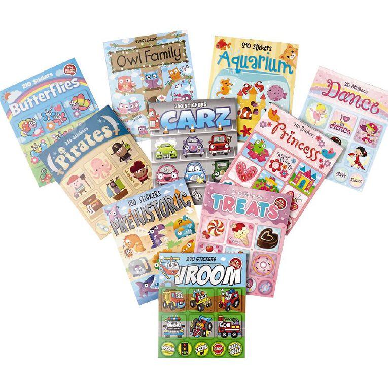 Kea Mini Sticker Book Assorted, , hi-res