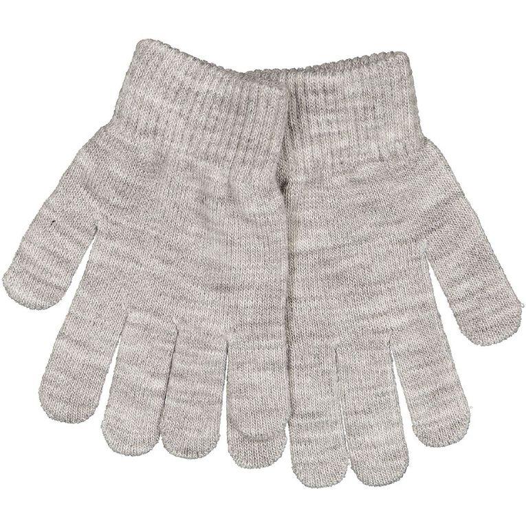 H&H Essentials Kids' Entry Gloves FF, Grey Marle, hi-res
