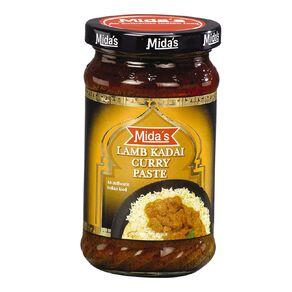 Midas Lamb Kadai Curry Paste 300g