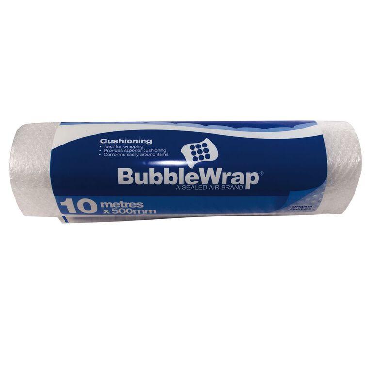 Bubble Wrap 500mm x 10m Clear, , hi-res