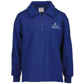 Schooltex Tawhiti Zip Tunic Sweatshirt with Embroidery