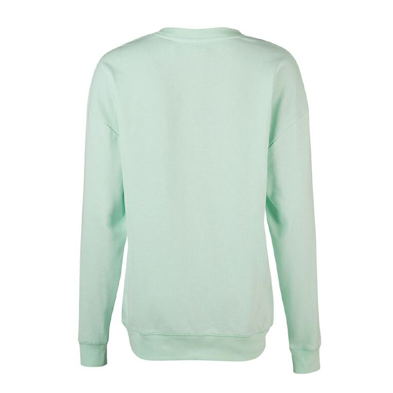 Pusheen Women's Lounge Sweatshirt, Mint, hi-res