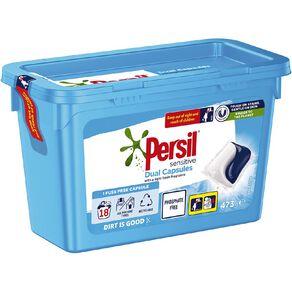 Persil Dual Caps Tub Active 26.3g 18s