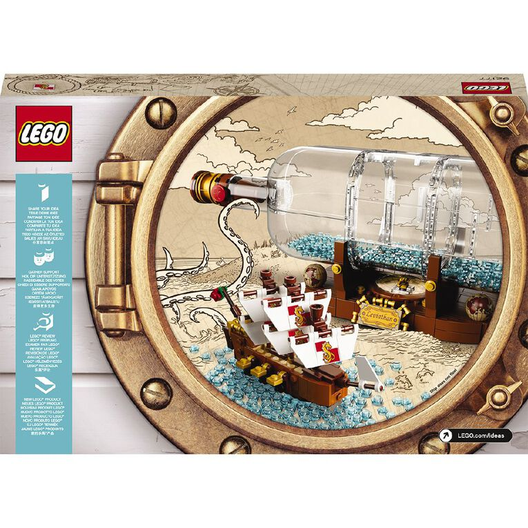 LEGO Ideas Ship in a Bottle 92177, , hi-res image number null