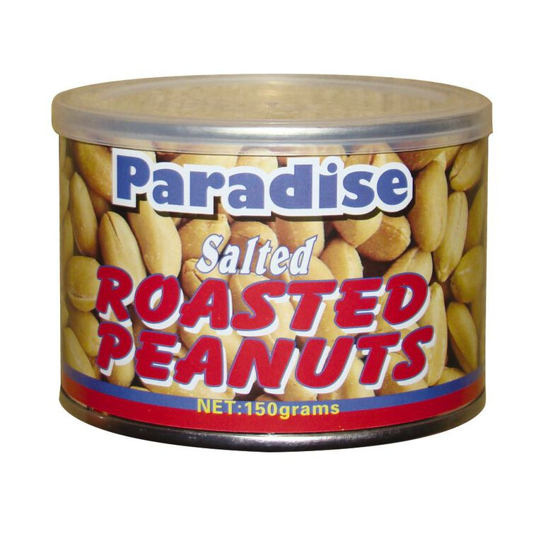 Paradise Salted Roasted Peanuts 150g, , hi-res