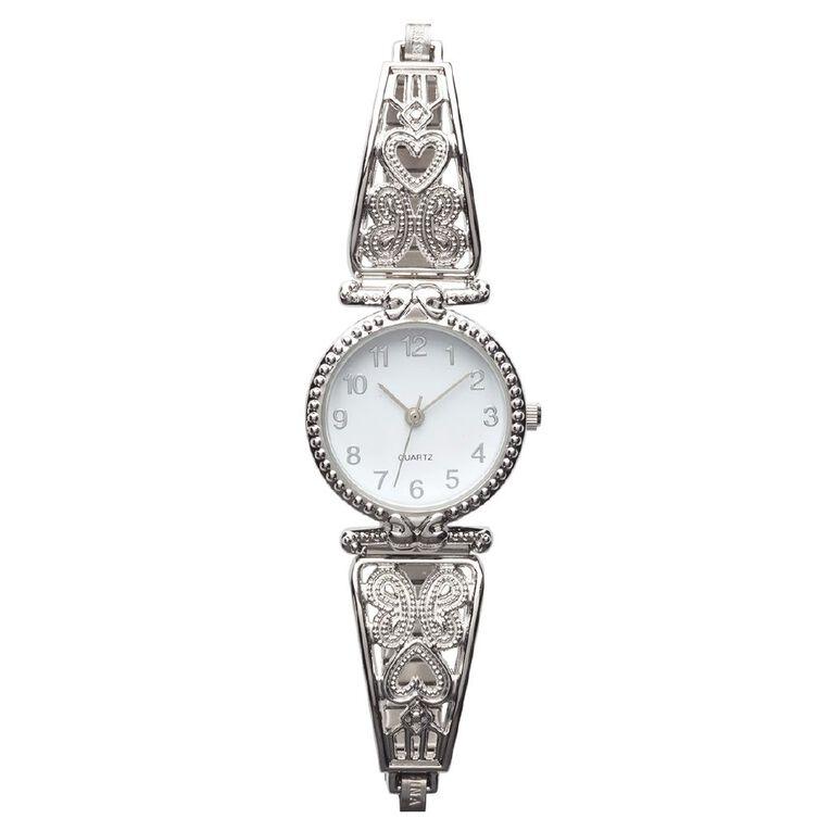 Eternity Women Analogue Watch Baroque Silver, , hi-res