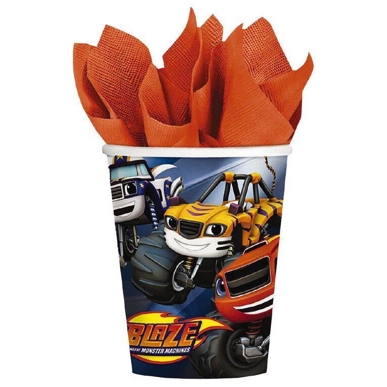 Nickelodeon Blaze Paper Cups 266ml 8 Pack, , hi-res