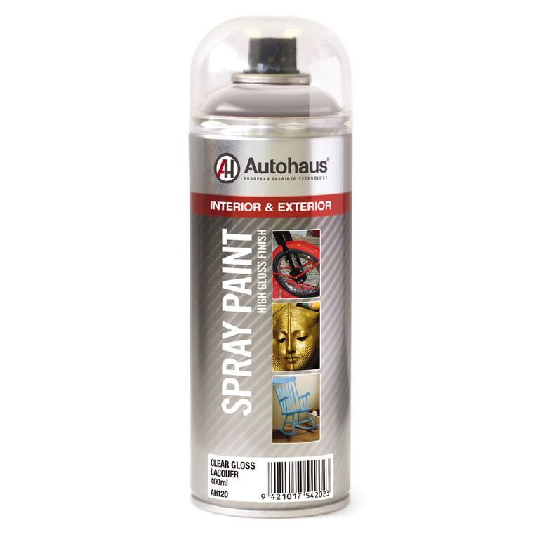 Autohaus Gloss Lacquer Clear 400ml, , hi-res