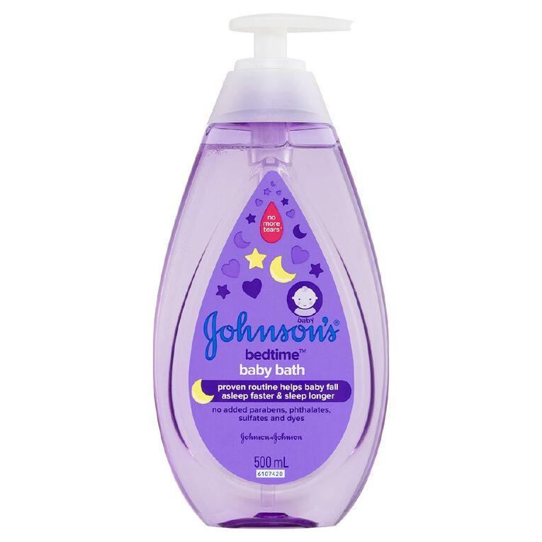 Johnson's Baby Bedtime Bath 500ml, , hi-res